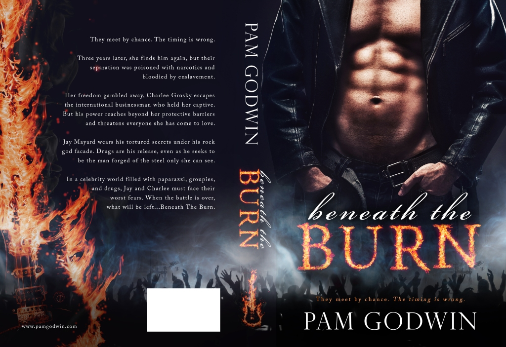 Beneath the Burn by Pam Godwin Cover Reveal