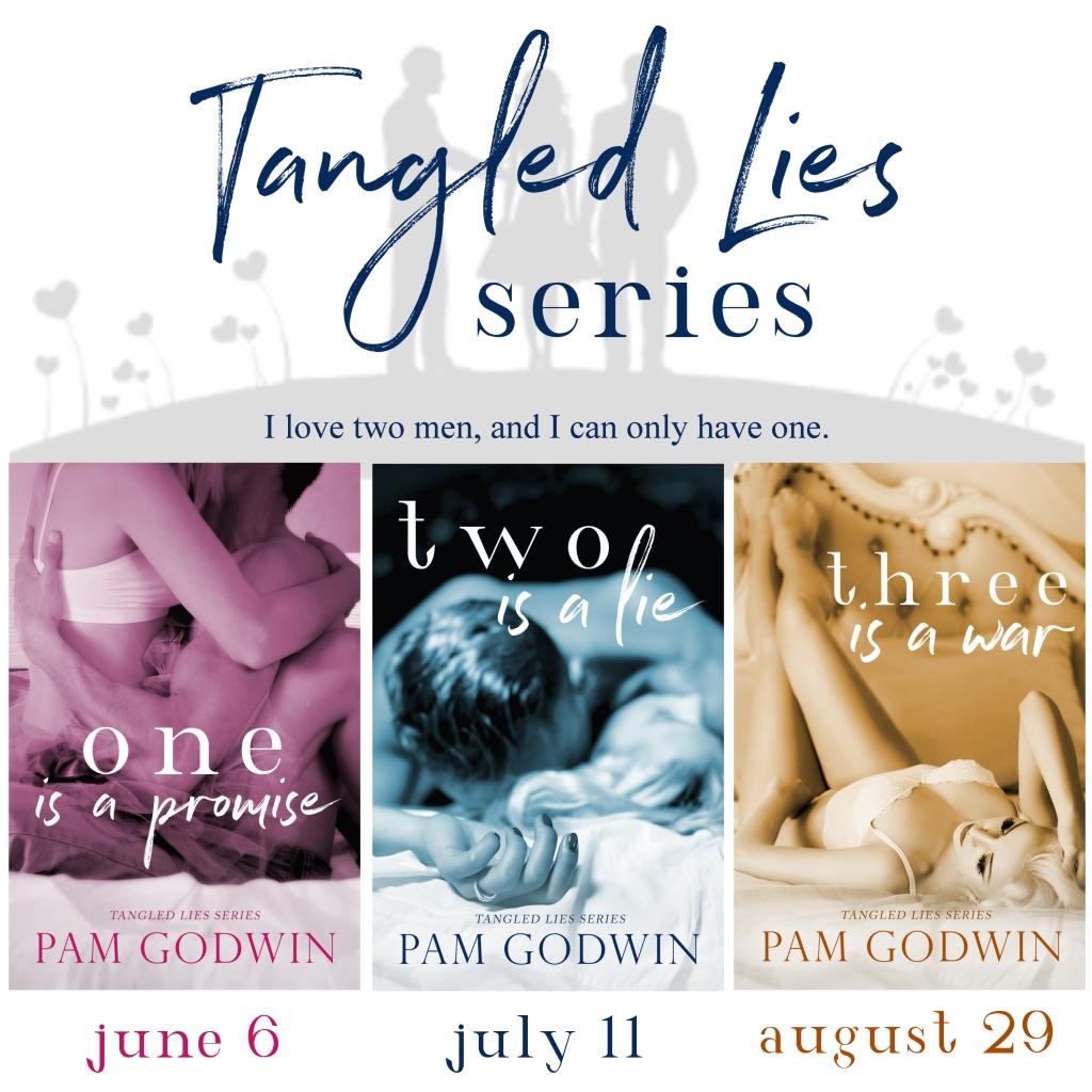 Have you seen the covers for the Tangled Lies series by Pam Godwin?