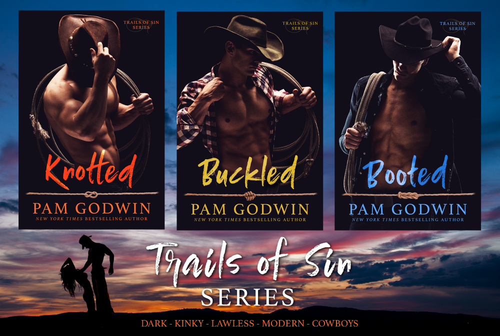Cover Reveal: Trails of Sins Series by Pam Godwin